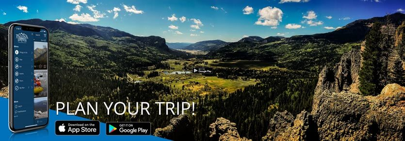 Get the Visit Pagosa Springs App from your favorite app store