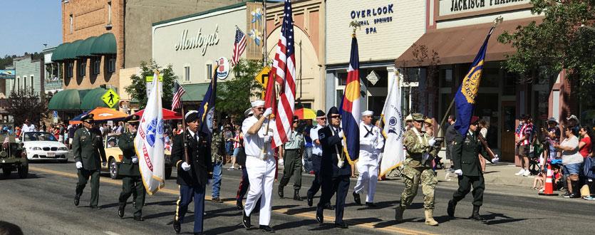 4th of July Parade on Main Street in Pagosa Springs, Colorado