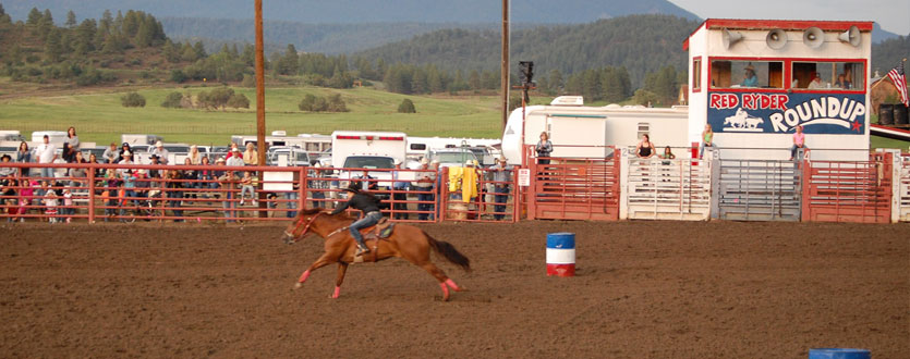 Red Ryder Roundup 4th of July Rodeo in Pagosa Springs, Colorado