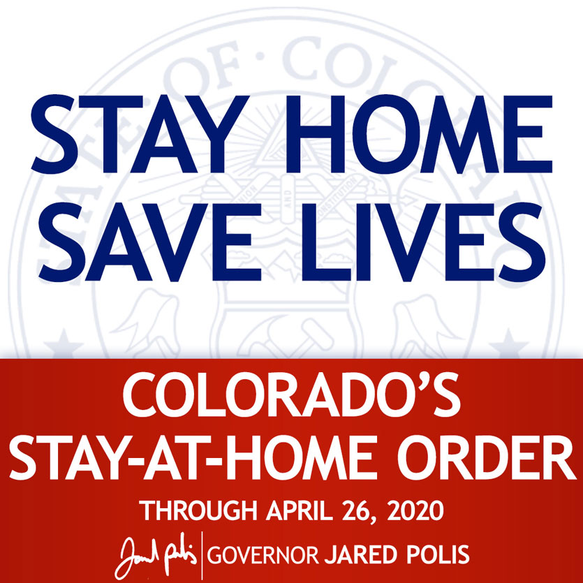 Stay At Home Order through 4-26-2020
