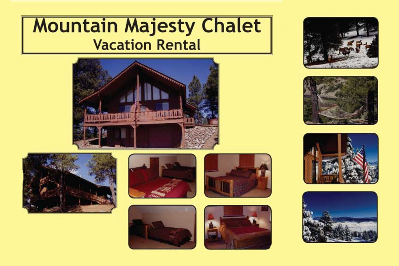 Mountain Majesty Chalet