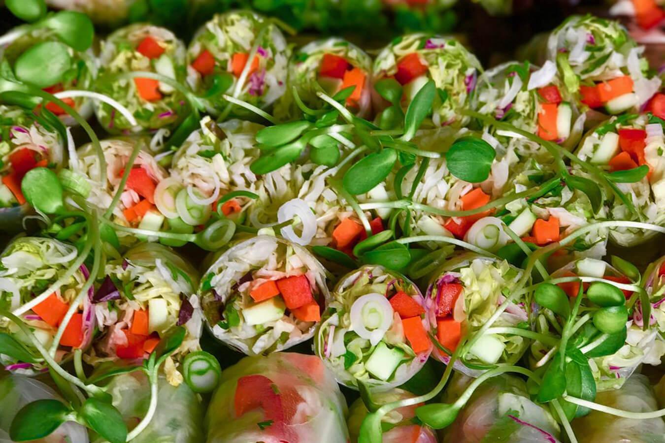 Skinny Meenee Rolls at Mee Hmong Cuisine