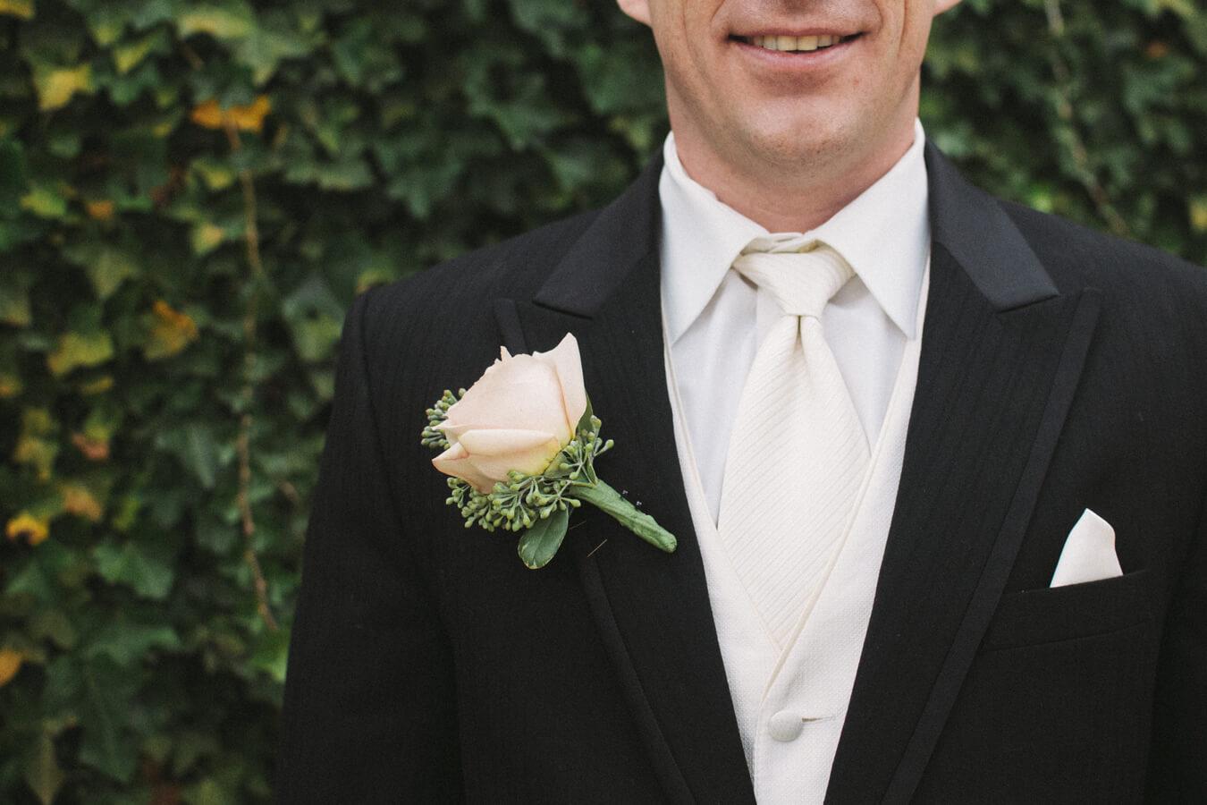 Gentleman in a tuxedo