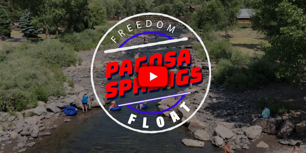 Join us for the first ever freedom float on the San Juan River through downtown Pagosa Springs