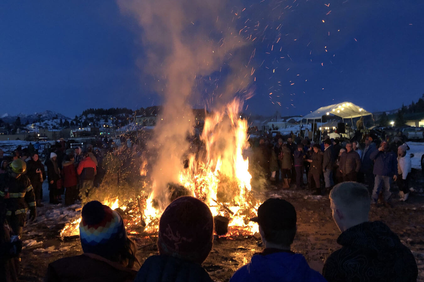 Join us for an epic bonfire in downtown Pagosa Springs