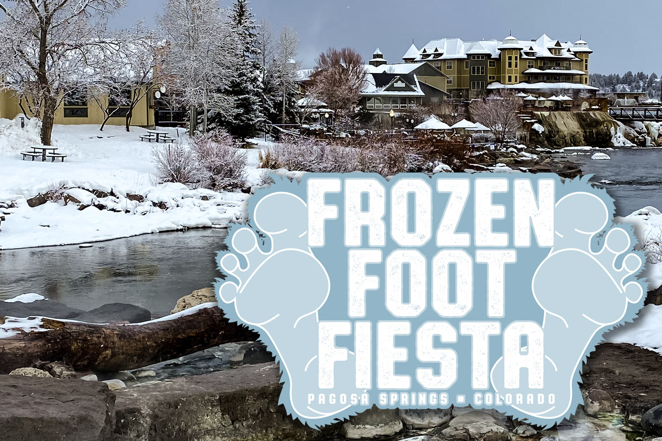 Frozen Foot Fiesta at the Springs Resort and Spa
