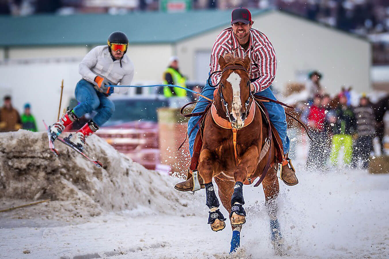 Experience the excitement of Skijoring in Pagosa Springs