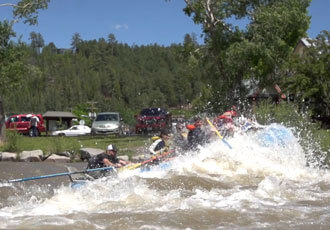 Whitewater rafting in Pagosa Springs