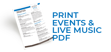 Download our Events and Live Music Flyer