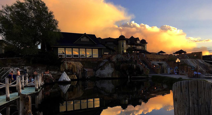 The Springs Resort and Spa at Sunset