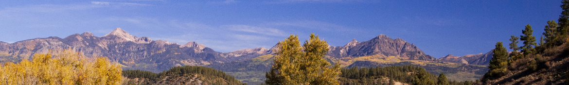 Pagosa Peak and Eagle Mountain in the Fall